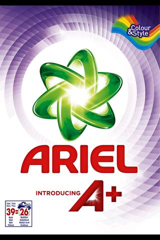 Ariel 1.092kg Color pyykinpesujauhe