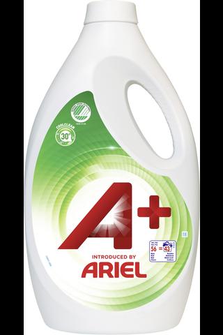 A+ Ariel 2520ml White Joutsenmerkki pyykinpesuneste
