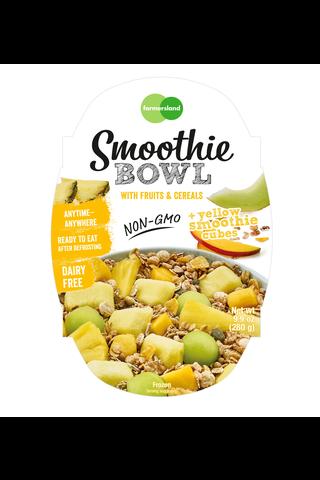 Farmersland Smoothie Bowl Yellow Fruits 280g Vegan