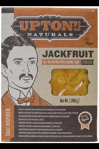 Upton's Naturals 200g Thai Curry Jackfruit kookoskastike