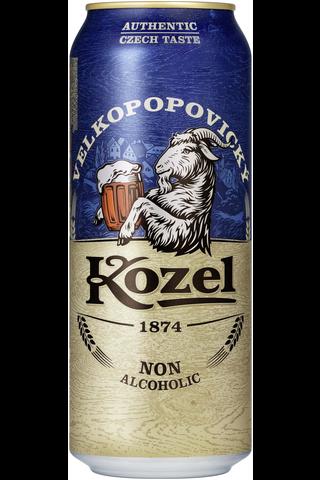Velkopopovický Kozel alkoholiton 0,5% 50cl tlk