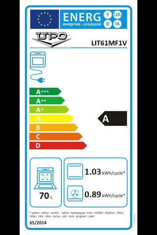 Upo LIT61MF1V induktioliesi 60cm
