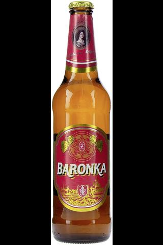 Zatec 0,5l Baronka vaalea lager olut 5,3%