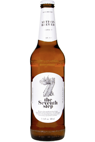 Zatec 0,5l 7th Step vaalea lager olut 5,5%