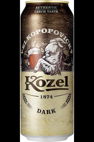 Velkopopovicky 0,5l Kozel Dark olut 3,8%