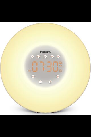 Philips HF3505/01 herätysvalo radiolla