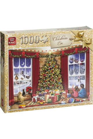 Christmas Eve 1000 pcs palapeli
