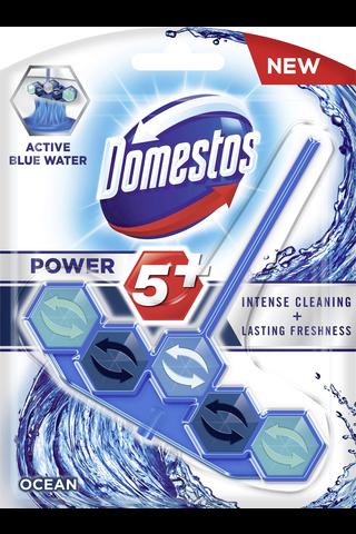 Domestos Power5 WC-raikastin Ocean sininen vesi