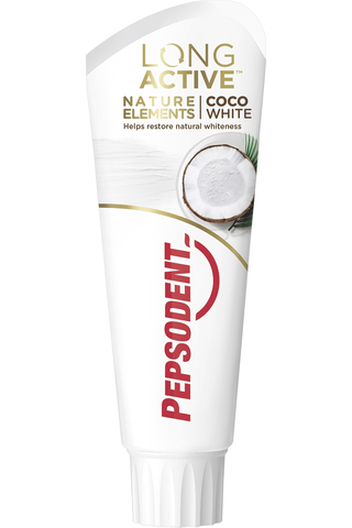 Pepsodent 75ml Long Active Natural Elements hammastahna Coco White