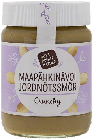 Nuts about Nature 340g maapähkinävoi crunchy
