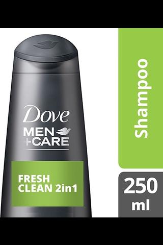 Dove Men Care Shampoo Fresh Clean 250ml
