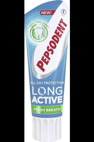 Pepsodent 75ml Long Active Fresh Breath hammastahna