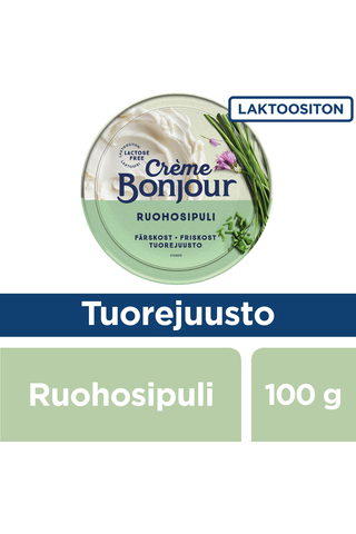 Creme Bonjour 100g Ruohosipuli tuorejuusto laktoositon