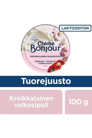 Creme Bonjour 100g Kreikkalainen valkosipuli tuorejuusto laktoositon