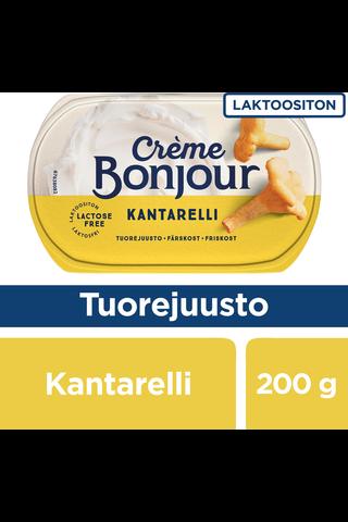 Creme Bonjour 200g Kantarelli tuorejuusto laktoositon