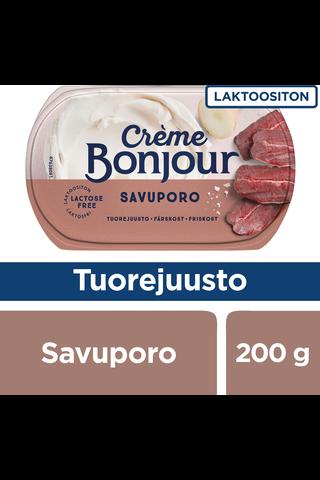 Creme Bonjour 200g Savuporo tuorejuusto laktoositon