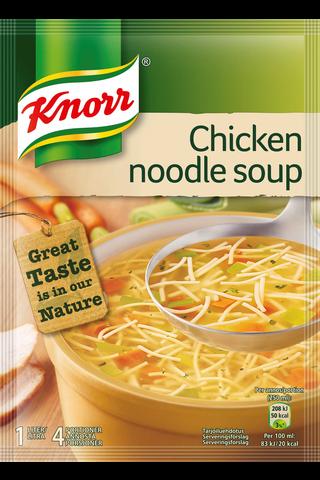 Knorr 61g Kana-nuudelikeitto keittoainekset