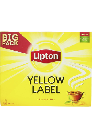 Lipton 150ps Yellow Label musta tee
