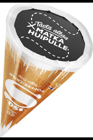 Ingman Iso 260ML / 140g jäätelötuutti Vanilja-suklaa-toffee vähälaktoosinen