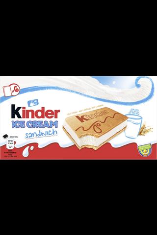 Kinder 360ml/210g Cereal Sandwich jäätelö 6-pack