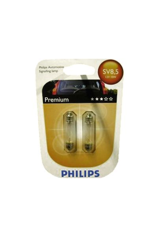 Philips Automotive Premium C5W autolamppu 12V 5W 2kpl