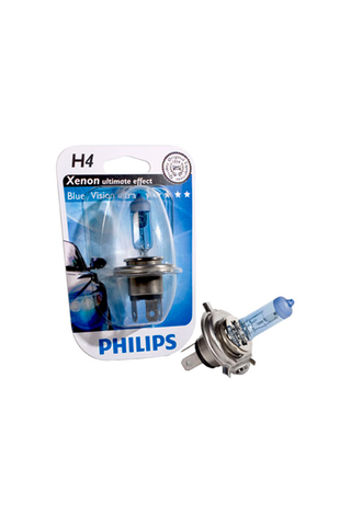 Philips H4 Blue Vision ultra autolamppu 12V 60/55W