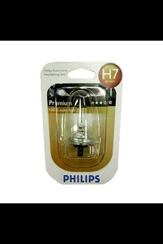 Philips H7 Premium autolamppu 12V 55W