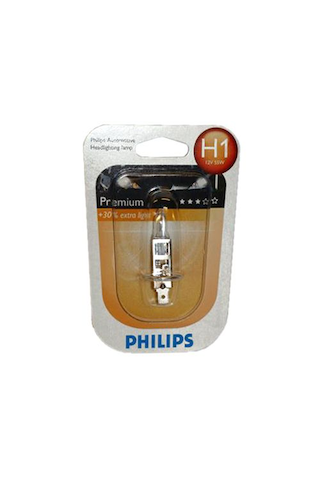 Philips H1 Premium autolamppu 12V 55W