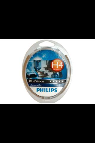 Philips H4 BlueVision Xenon autolamppu 12V 60/55W