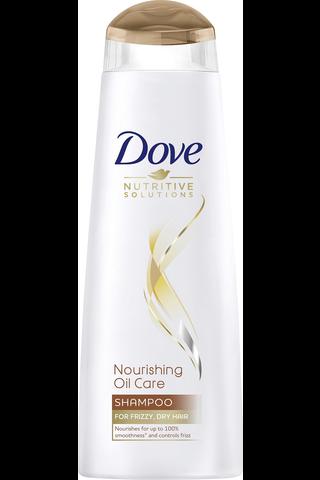 Dove 250ml Nourishing Oil shampoo