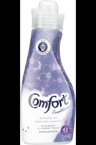 Comfort 750ml Creations Blueberry & Jasmine Twist huuhteluaine