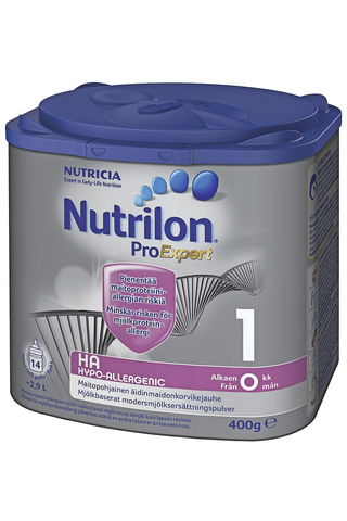 Nutrilon Hypo-Allergenic 1 400g äidinmaidonkorvikejauhe 0-6 kk