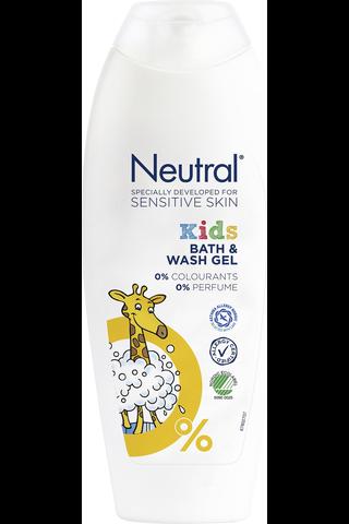 Neutral 250ml Kids suihkusaippua