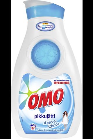Omo 888ml Pikkujätti Active Clean Regular pyykinpesuneste
