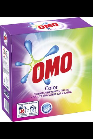 Omo 1,26kg Color pyykinpesujauhe