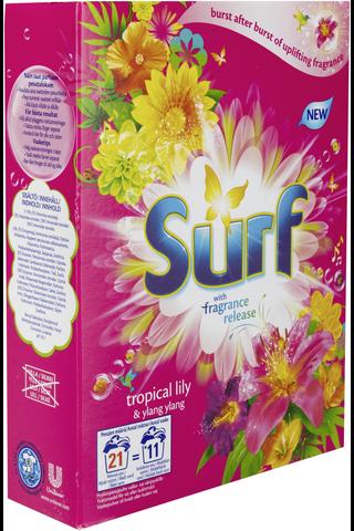 Surf 660g Tropical Lily & Ylang Ylang pyykinpesujauhe
