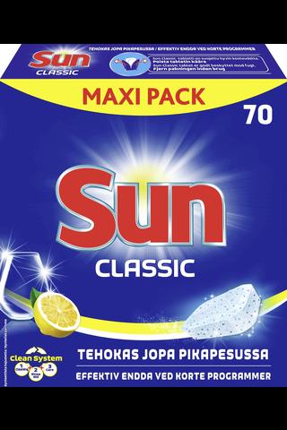 Sun Konetiskitabletti Classic Lemon 70 tab