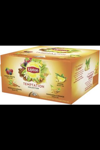 Lipton 34g Temptation Collection pyramidi teelajitelma 20ps