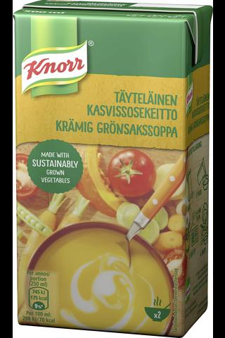 Knorr 500ml Täyteläinen kasvissosekeitto