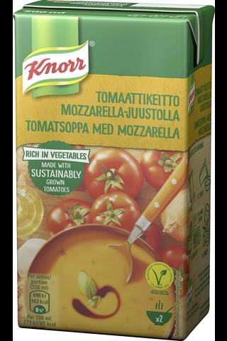 Knorr 500ml Tomaattikeitto mozzarella-juustolla