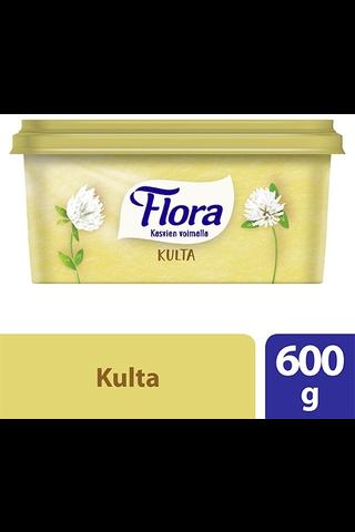Flora 600g Kulta 80% margariini