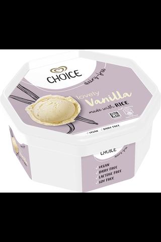 Choice 750ml/410g vaniljariisijäätelö