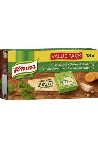 Knorr 18x10g Kasvisliemikuutio