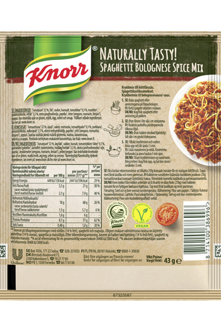Knorr Ateria-aines Spaghetti Bolognese 43 g