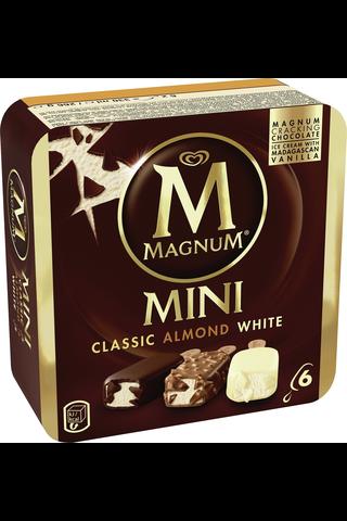 Magnum 330ml/266g Classic, Almond ja White jäätelölajitelma 6-pack