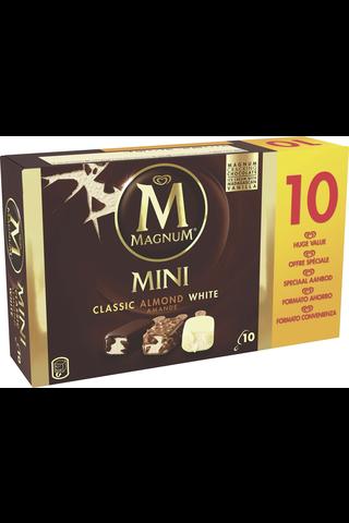 Magnum 550ml/443g Classic, Almond ja White jäätelölajitelma 10-pack