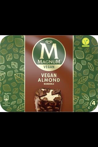 Magnum 360ml/284g Vegan Almond jäätelöpuikko 4-pack