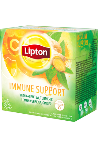 Lipton 32g Immune Support vihreä tee 20ps