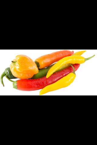 Chili Mix Vahvuus 3-10