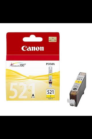 Canon CLI-521 mustepatruuna keltainen